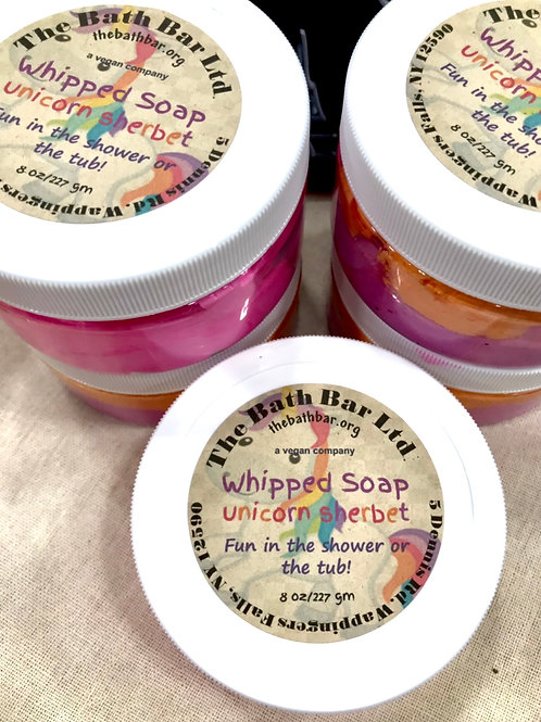 Unicorn Sherbet Whipped Soap