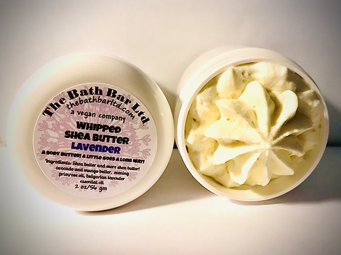 WHIPPED SHEA BODY BUTTER LAVENDER