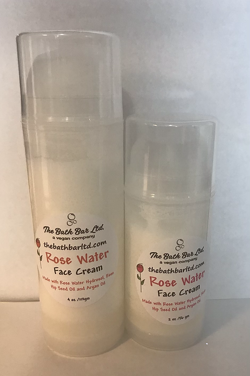 Rose Water Face Cream