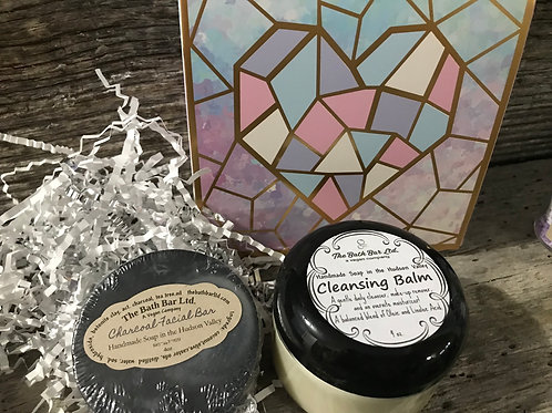 Cleansing Balm and Charcoal Facial Bar