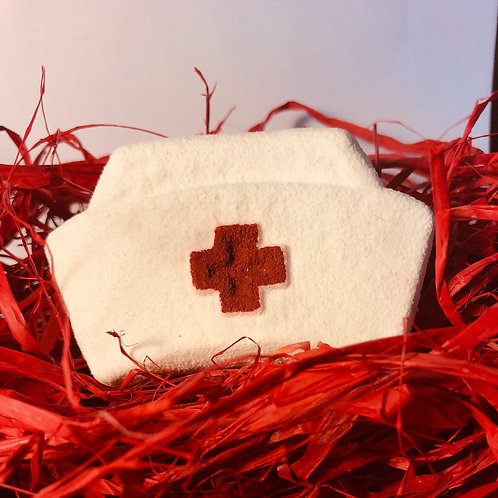 Nurse Hat Bath Bomb
