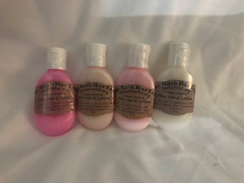 Mini Hand Lotions