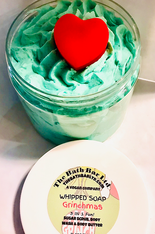 Grinchmas Whipped Soap