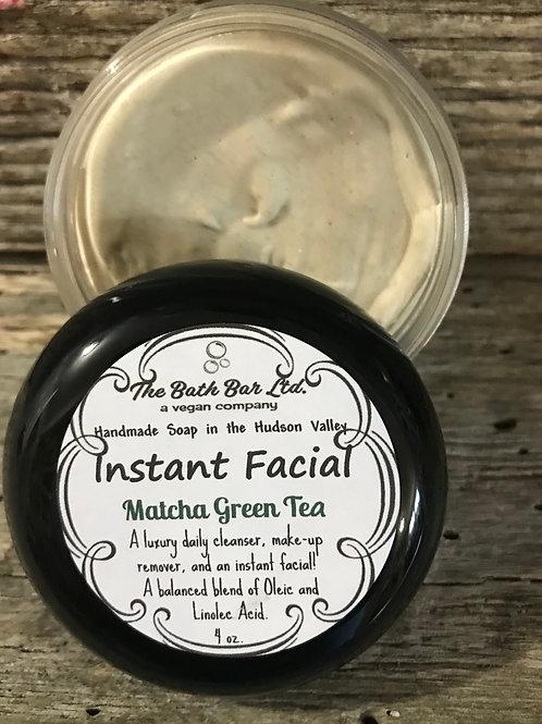 Instant Facial - Matcha Green Tea