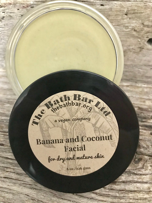 BANANA AND COCONUT FACIAL