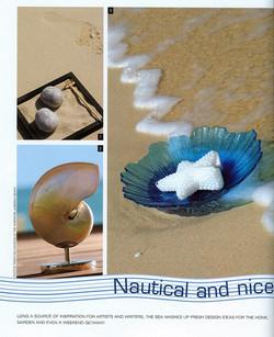 waves, shell, beach starfish