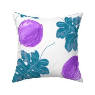9384395-violet-teal-super-pom-blue-leaf-