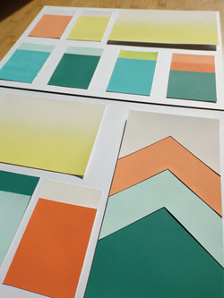 Our tropical colour scheme for a regional day care procect
