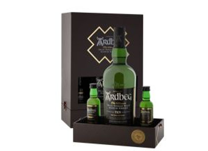 "Ardbeg ""Exploration Pack"" 10 Year Islay Single Malt Scotch Whisky Gift Set"