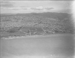 Aerial view of Gill Tract in 1928