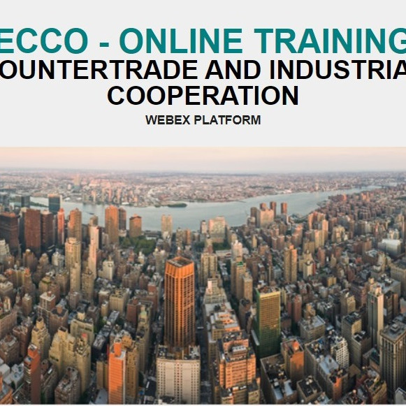 ECCO - ONLINE TRAINING COUNTERTRADE AND INDUSTRIAL COOPERATION (1)