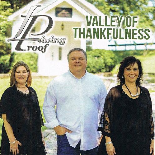 Valley of Thankfulness - CD