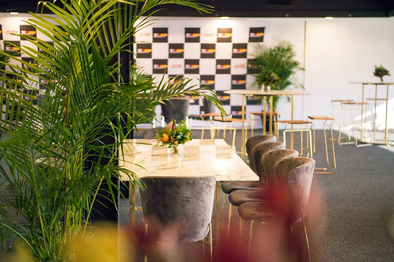Inspiring event set up by Melbourne Event Agency Show Plate productions