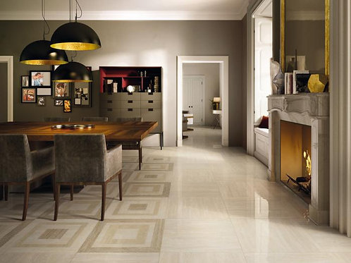 Travertino Floor Project Navona