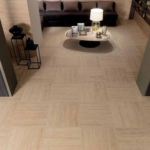 Travertino Floor Project Romano Antique