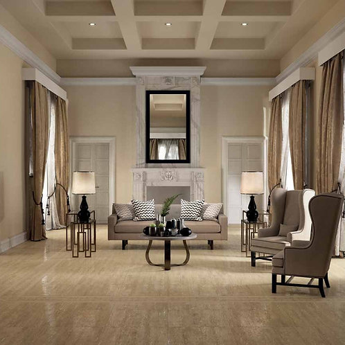 Travertino Floor Project Noce Antique