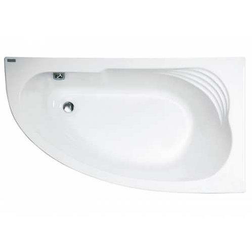 Акриловая угловая ванна Jika DELICIA 140*80, с каркасом и сифоном