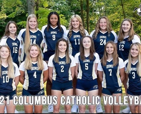 FALL CREEK EDGES COLUMBUS CATHOLIC IN CLOVERBELT VOLLEYBALL CROSSOVER