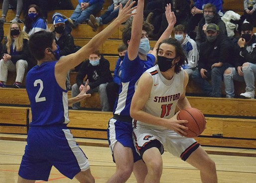 STRATFORD BOYS BASKETBALL WHIPS RIB LAKE FOR FOURTH-STRAIGHT WIN