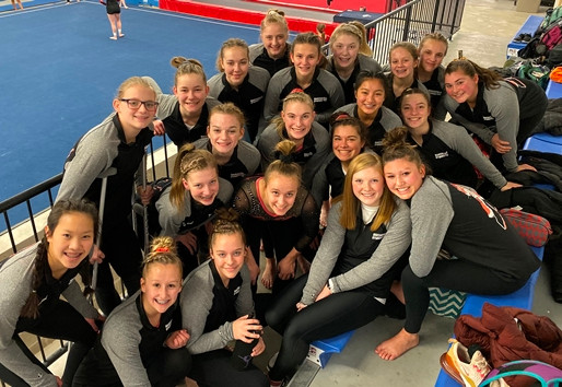 MARSHFIELD GYMNASTICS OPENS SEASON WITH WIN AT LA CROSSE QUAD
