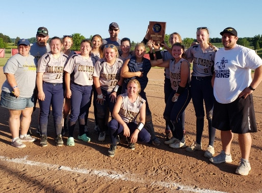 INDEPENDENCE/GILMANTON HOLDS OFF COLUMBUS CATHOLIC TO WIN DIVISION 5 SOFTBALL SECTIONAL SEMIFINAL