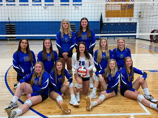 AUBURNDALE VOLLEYBALL WINS ALL THREE MATCHES AT HOME QUAD