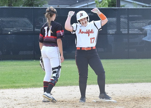 MARSHFIELD SOFTBALL TOPPLES SPASH TO WIN WIAA DIVISION 1 SECTIONAL SEMIFINAL