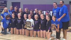 MOSINEE VOLLEYBALL SWEEPS MEDFORD TO FINISH GNC SEASON UNDEFEATED