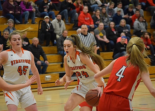 STRATFORD GIRLS BASKETBALL CRUISES TO ROAD WIN AT LOYAL