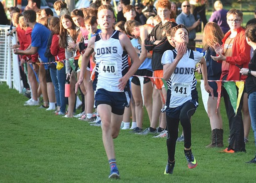COLBY/ABBY GIRLS, COLUMBUS CATHOLIC'S ANDREW SCHEER EARN TITLES AT SPENCER CROSS COUNTRY INVITE