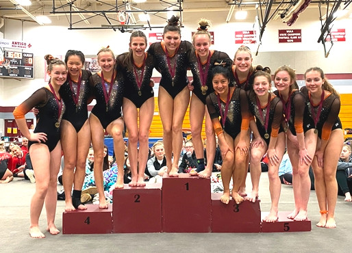 MARSHFIELD GYMNASTICS TEAM WINS ANTIGO, TOMAH MEETS TO REMAIN UNDEFEATED