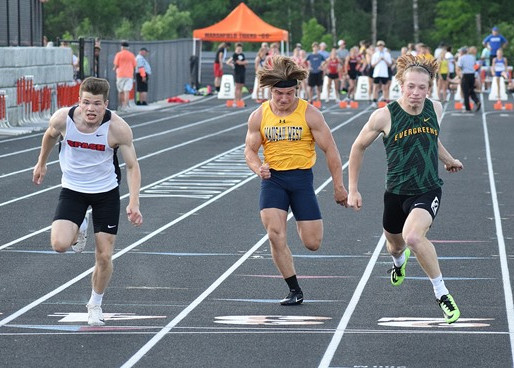 STEVENS POINT BOYS, D.C. EVEREST GIRLS CRUISE TO TEAM WINS AT WISCONSIN VALLEY CONFERENCE TRACK MEET