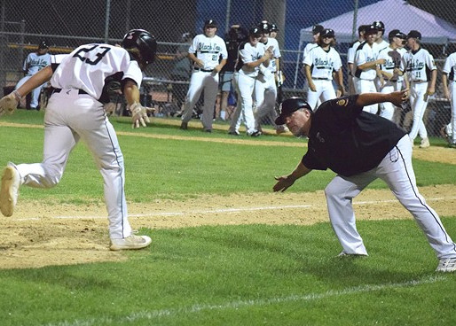PLOVER CASHES IN ON MISTAKES, POUNDS RACINE IN OPENER OF CLASS AAA STATE LEGION BASEBALL TOURNAMENT