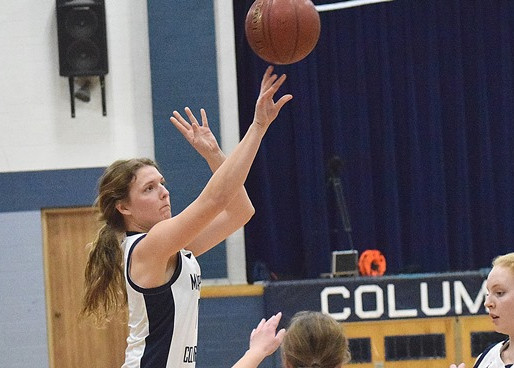 ALL-CLOVERBELT CONFERENCE EAST DIVISION GIRLS BASKETBALL TEAM: LOYAL'S REMI GEIGER NAMED TOP PLAYER