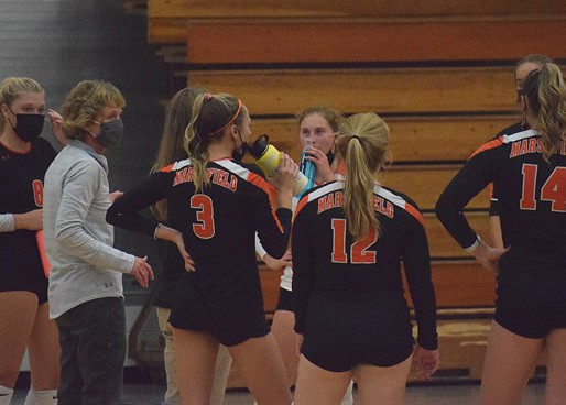 MARSHFIELD VOLLEYBALL DROPS FINALE AT HORTONVILLE, TIES FOR WVC TITLE