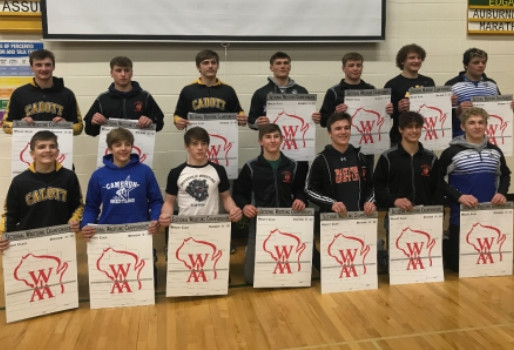 SEVEN STRATFORD WRESTLERS EARN SPOTS IN STATE MEET AT WIAA DIVISION 3 EDGAR SECTIONAL