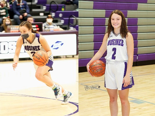 MOSINEE GIRLS BASKETBALL PLAYER ALEXIS FRIEBOTH VOTED DECEMBER HIGH SCHOOL ATHLETE OF THE MONTH