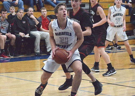 COLUMBUS CATHOLIC BOYS BASKETBALL ROUTS ABBOTSFORD FOR FOURTH-STRAIGHT WIN
