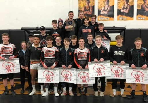 STRATFORD SENDS 12 TO SECTIONALS, WINS TEAM TITLE AT WIAA DIVISION 3 CADOTT REGIONAL
