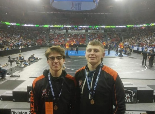 FIVE AREA WRESTLERS WIN TITLES AT 2020 WIAA STATE INDIVIDUAL WRESTLING TOURNAMENT