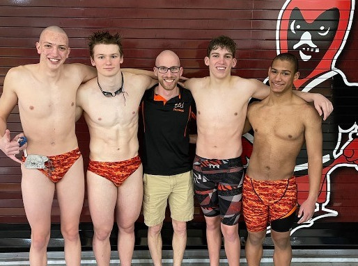 MARSHFIELD 200 FREESTYLE RELAY TEAM FINISHES 20TH AT WIAA STATE BOYS SWIMMING CHAMPIONSHIPS