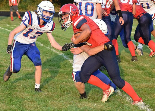SPENCER/COLUMBUS FOOTBALL USES BIG PLAYS TO KNOCK OFF GLENWOOD CITY IN OPENER
