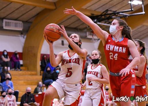 SPENCER GIRLS BASKETBALL DEFEATS GRANTON, GILMAN