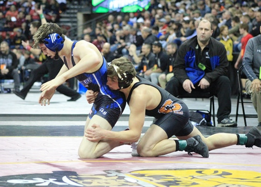 SEVEN AREA WRESTLERS WIN SEMIFINAL MATCHES AT WIAA STATE INDIVIDUAL WRESTLING TOURNAMENT