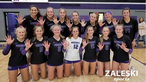 MOSINEE VOLLEYBALL WINS THREE MATCHES AT GNC MEET, CLINCHES CONFERENCE TITLE