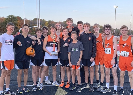 MARSHFIELD BOYS WIN TITLE, GIRLS TAKE SECOND AT MEDFORD CROSS COUNTRY INVITE