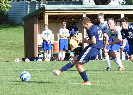 COLUMBUS CATHOLIC SOCCER SCORES LATE GOAL, SNAGS TIE IN CONFERENCE OPENER