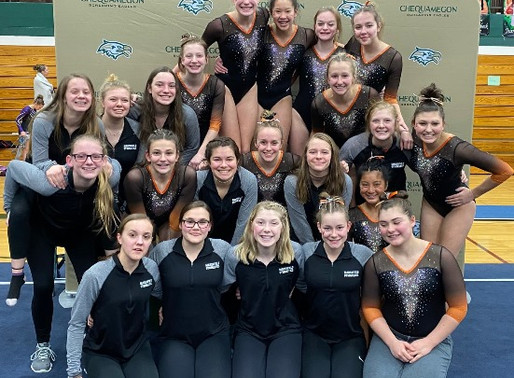 MARSHFIELD GYMNASTICS, HOLLAND REPEAT AS GREAT NORTHERN CONFERENCE LARGE CHAMPIONS