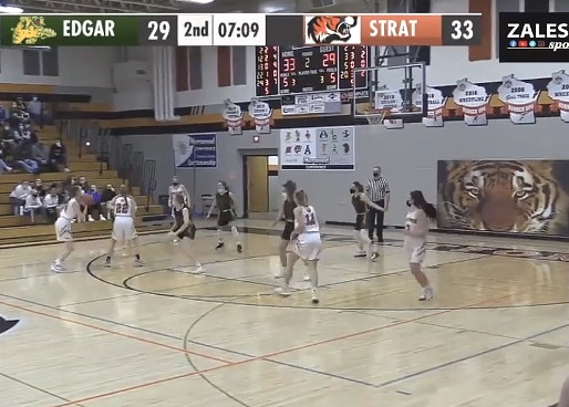 STRATFORD GIRLS BASKETBALL PULLS AWAY TO DEFEAT EDGAR, REMAINS IN TIE FOR MARAWOOD SOUTH LEAD