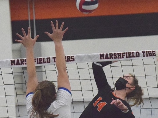 MARSHFIELD HAS TWO NAMED TO FIRST TEAM OF 2020 ALL-WISCONSIN VALLEY CONFERENCE VOLLEYBALL TEAM